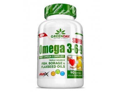 Amix Super Omega 3-6-9 90kapslí