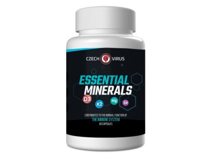 Czech Virus Essential Minerals 60kapslí