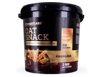 SmartLabs Oat Snack 3000g (Příchuť čokoláda)