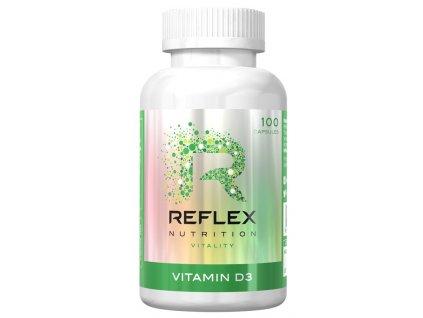 Reflex Vitamin D3 100kapslí