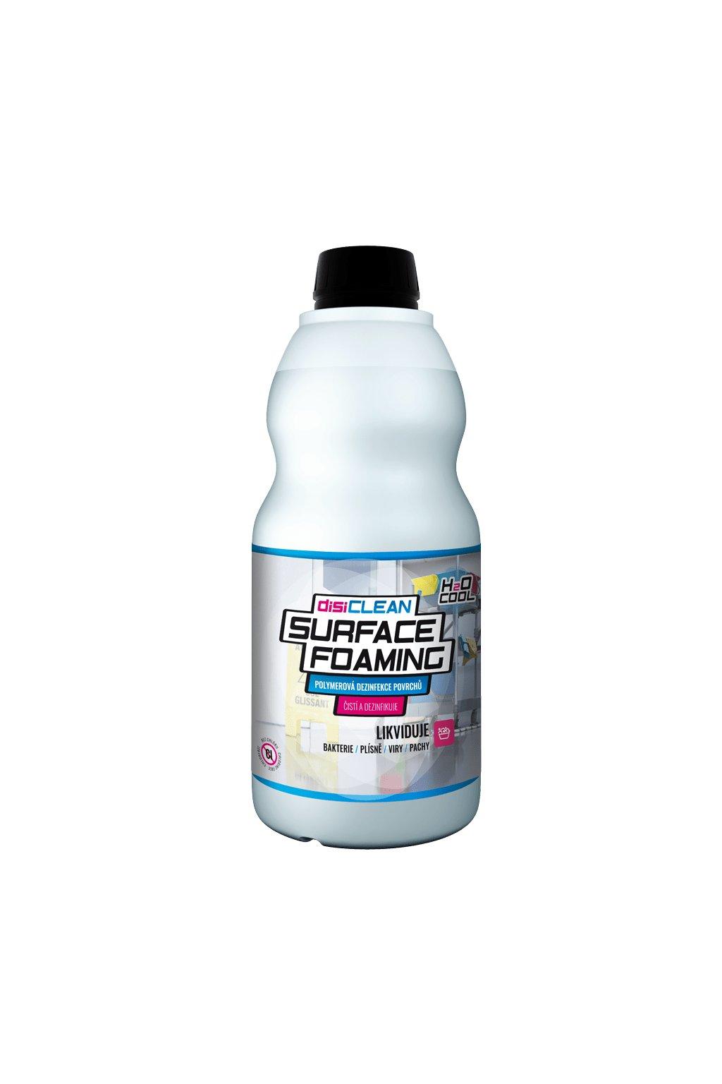 24 bezchlorovy cistici dezinfekcni prostredek disiclean h2o surface foaming 1l