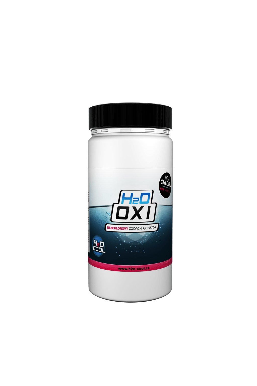 12 bezchlorova oxidace bazenove vody h2o oxi