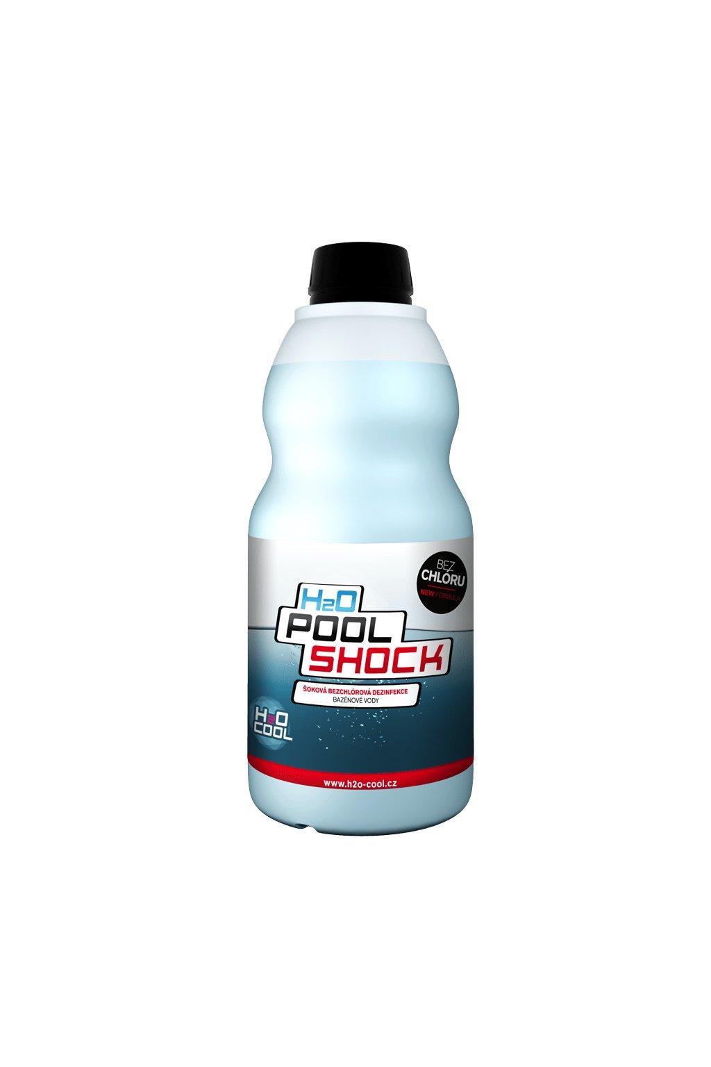 10 sokova dezinfekce bazenove vody h2o pool shock