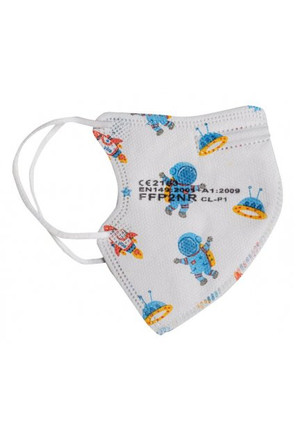 detsky respirator ffp2 kluci3