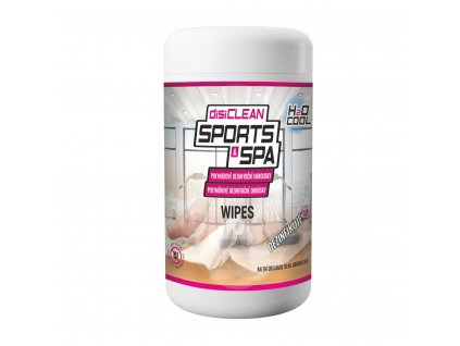 h2o disiClean Sport and Spa Wipes fotka (1) (2)