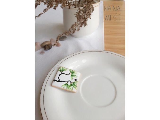 """magnetka """"Dlouhověká borovice"""" keramická"""