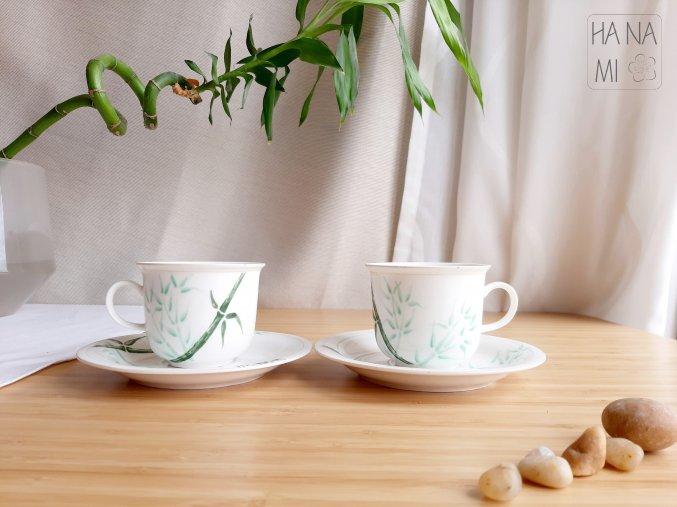 """snídaňová sada """"Bambusový háj"""""""