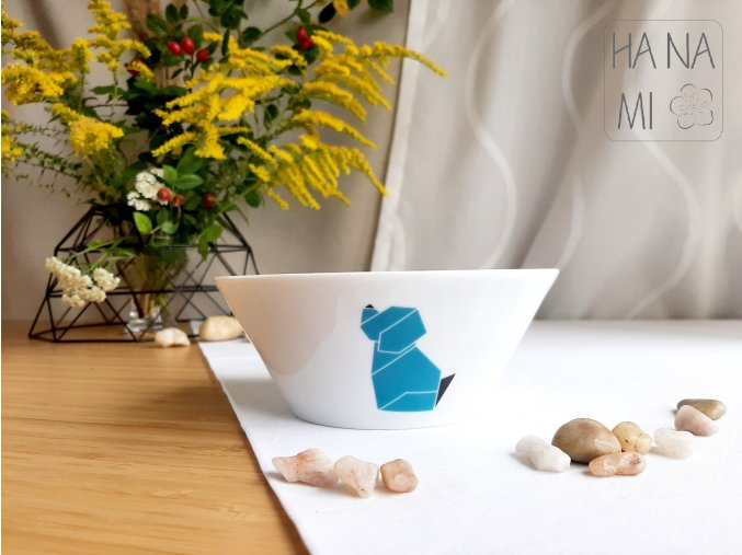 miska origami pes