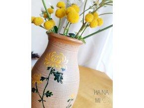 """váza """"Císařská chryzantéma"""""""