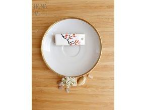 """spona """"Šípkový čaj"""" keramická"""