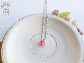 náhrdelník TAMA růžový