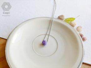 náhrdelník TAMA fialový