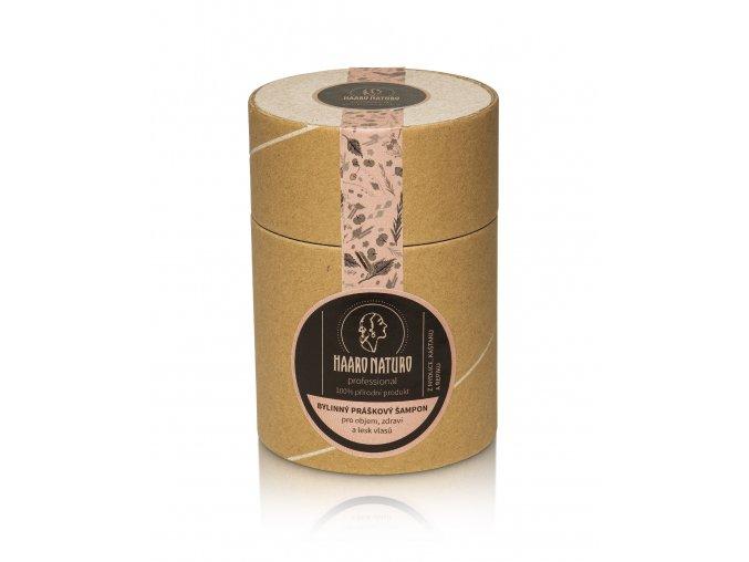 bylinný práškový šampon pro lesk 150g