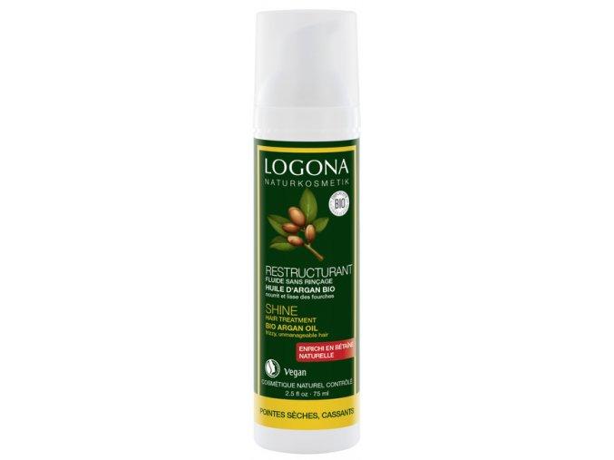 vlasovy fluid Logona bio arganovy olej 608