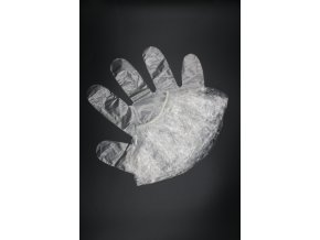 čepice na barvení + rukavice