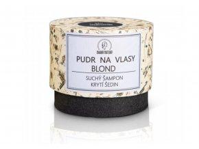suchý šampon blond Haaro Naturo