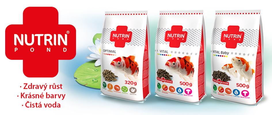 Kompletní krmivo s optimálním obsahem živin pro všechny druhy kaprovitých ryb.