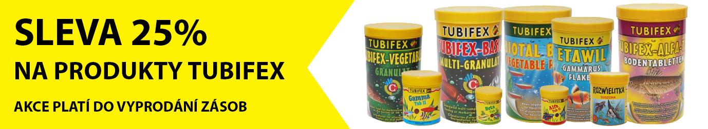25% SLEVA na veškerý sortiment značky TUBIFEX