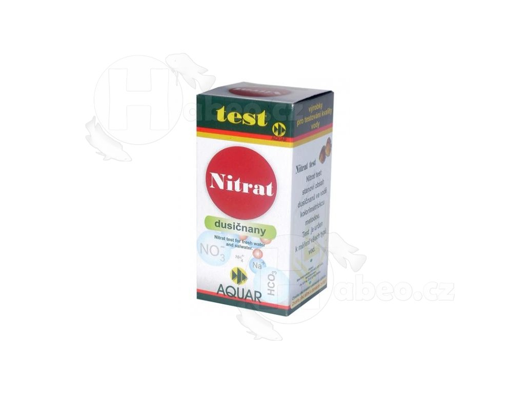 Test Nitrat (NO3-) 20 ml Dusičnany