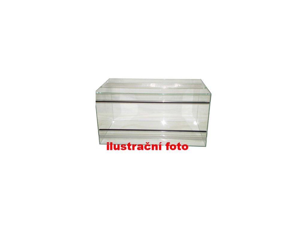 Terárium lepené 50x30x35cm obsah:53litrů sklo:4mm