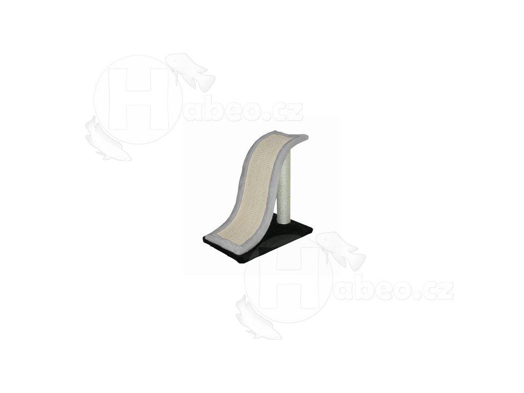 Škrabadlo Wave S 38 cm škrabadlo pro kočky skluzavka