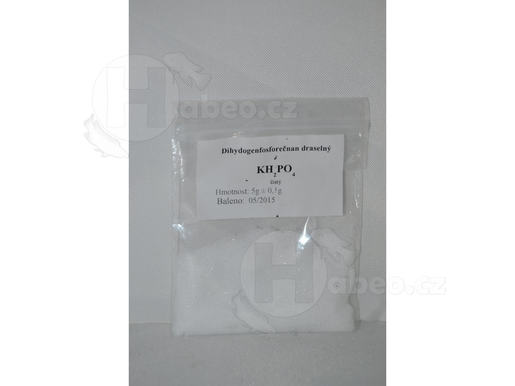 Dihydrogenfosforečnan draselný KH2PO4