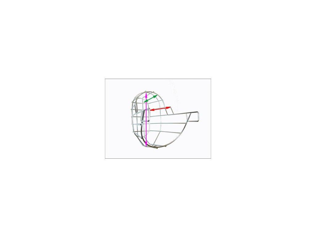 Náhubek zinek / barex erdelteriér fena