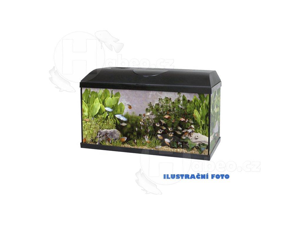 Akvárium set PACIFIC 60x30x30 cm 54Litrů - LED OSVĚTLENÍ  + Vzorek krmení Ocean Nutrition