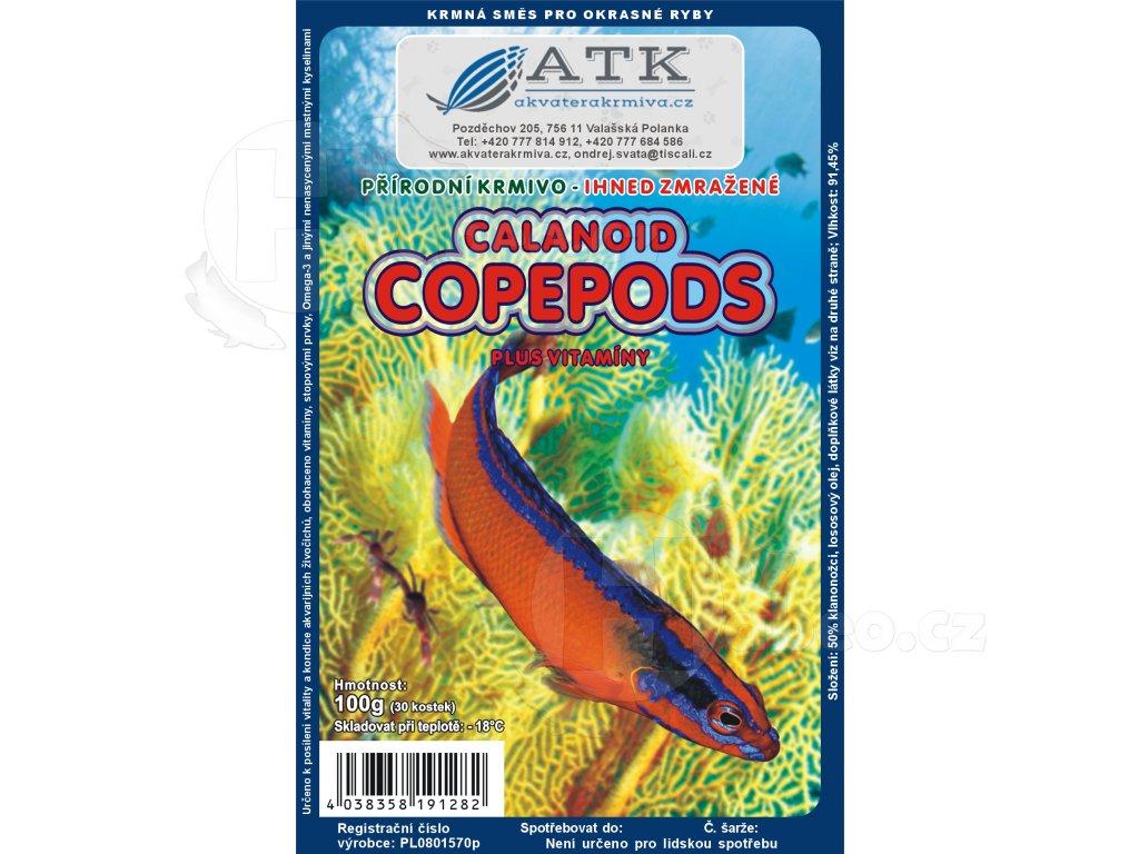 Calanoid copepods 100 g habeo.cz