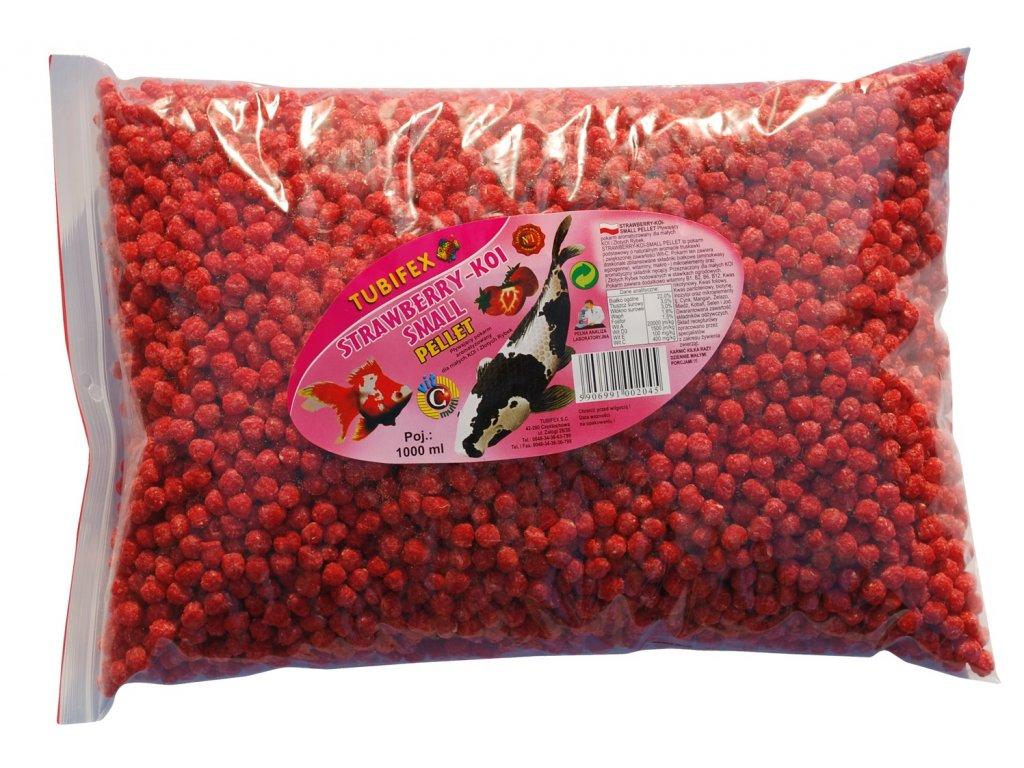 Strawsberry Koi pellet worek