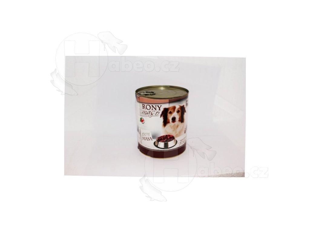 RONY MASO 800 g konzerva pro psa