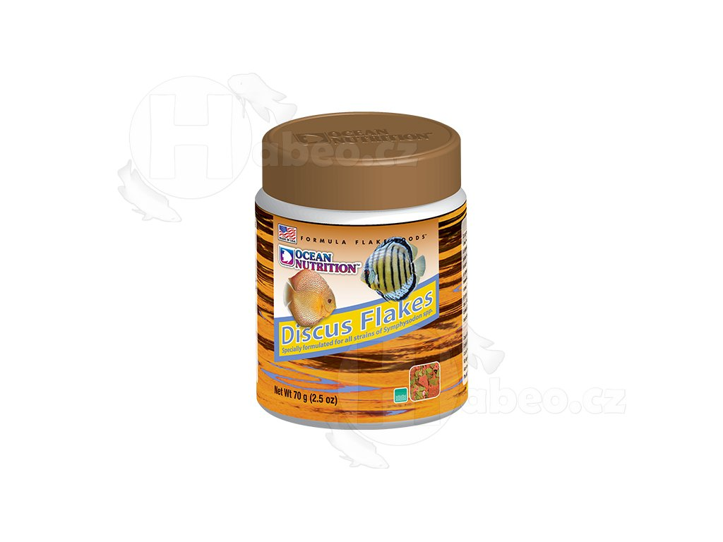 Ocean Nutrition Discus Flakes 34g