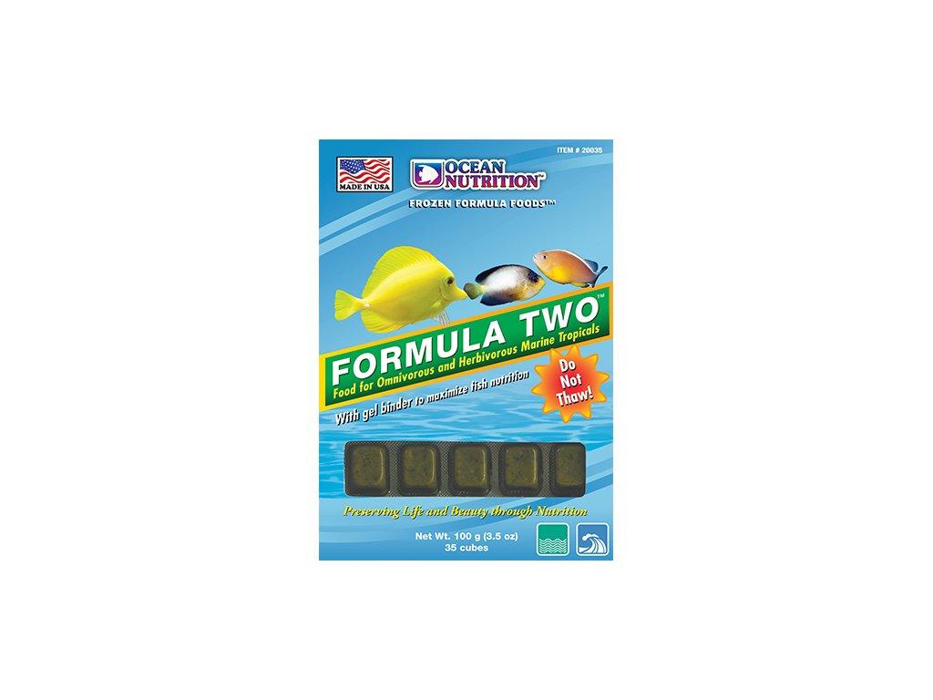 Formula two - mražené krmivo pro mořské rybičky