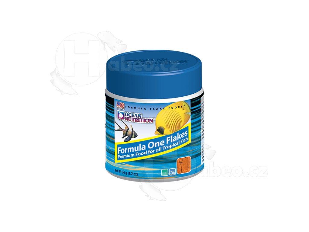 Formula One Flakes 34 g - krmivo pro mořské ryby ocean nutrition krmivo pro mořské tropické akvarijní ryby rybičky vločky