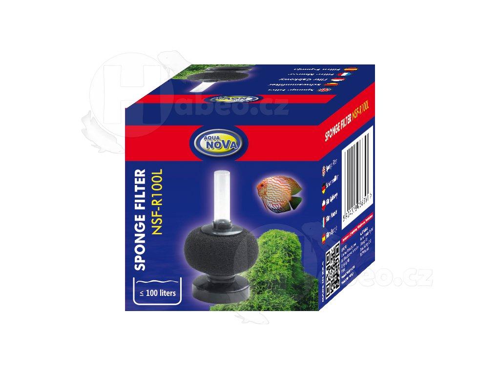 Vnitřní molitanový filtr stojánkový kulatý do R100l