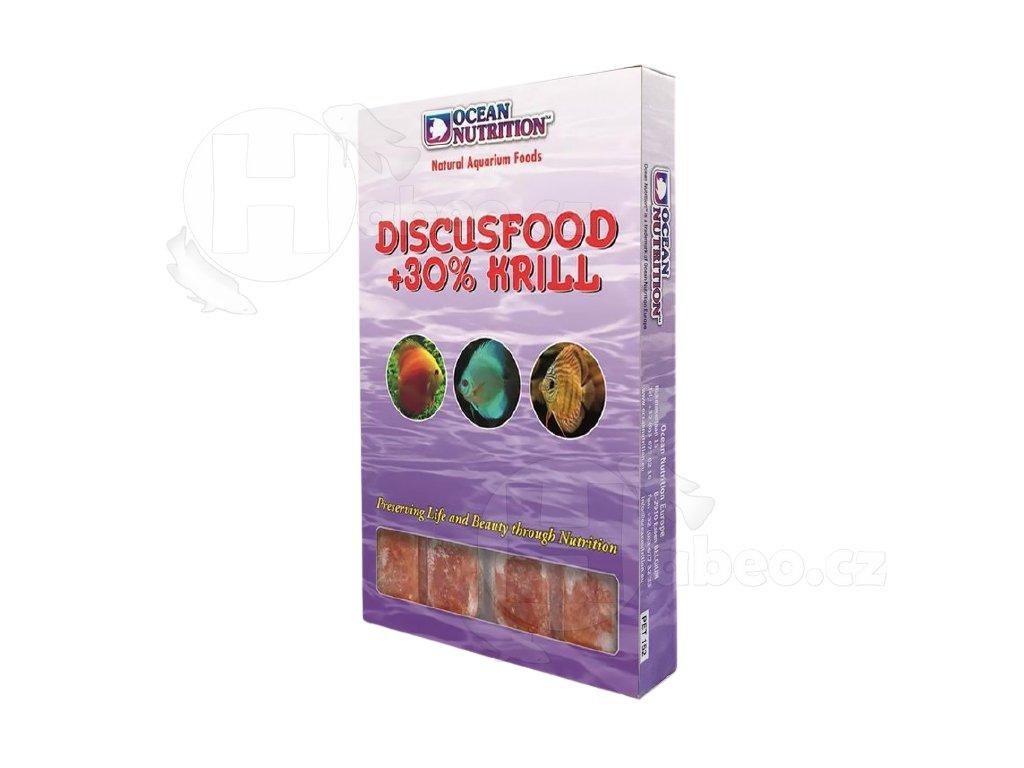 Mražené krmivo pro diskusy - Ocean Nutrition Discusfood + 30% Krill 100g mražené krmivo pro diskusy terčovce krmení