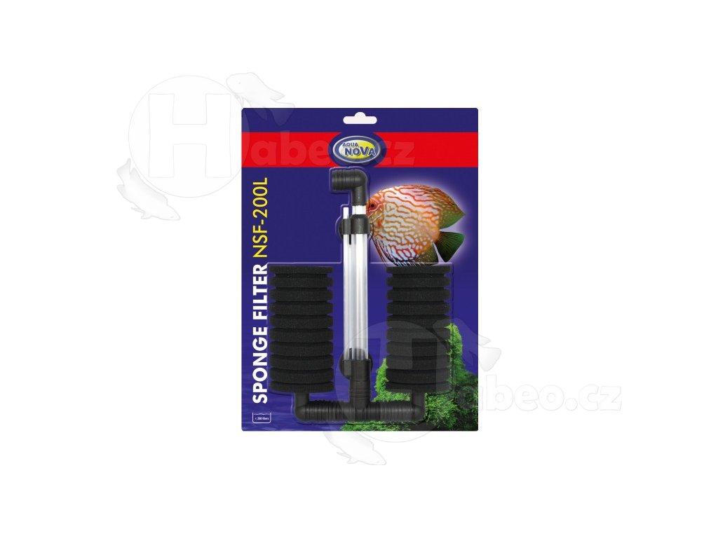 Vnitřní molitanový filtr double NSF-200L