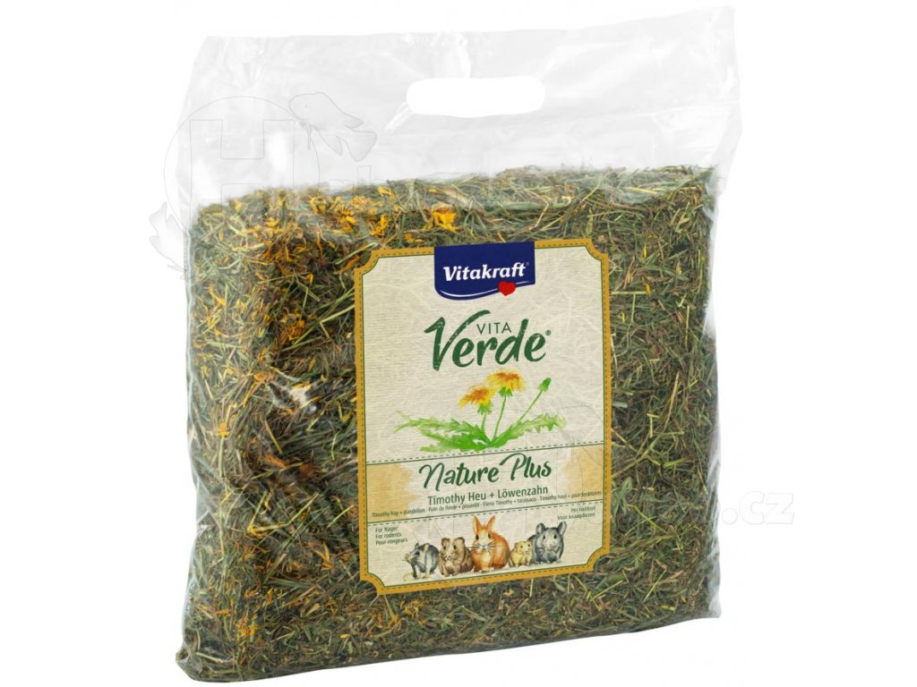 Vitacraft Vita Verde seno s pampeliškou 500 g habeo.cz