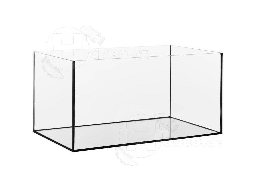 Akvárium lepené 75 x 30 x 40 cm obsah 90 l sklo 6 mm
