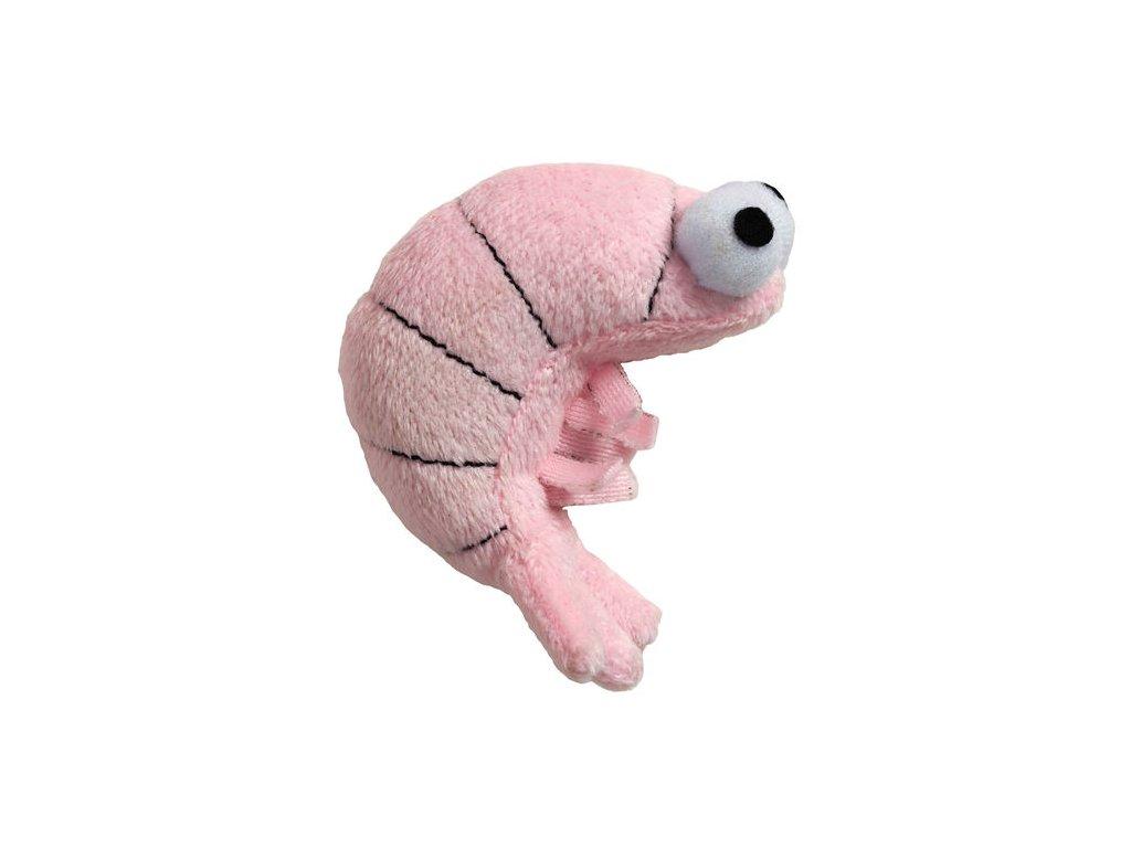 Funky Feline Sushi Krevetka se šantou kočičí - růžová