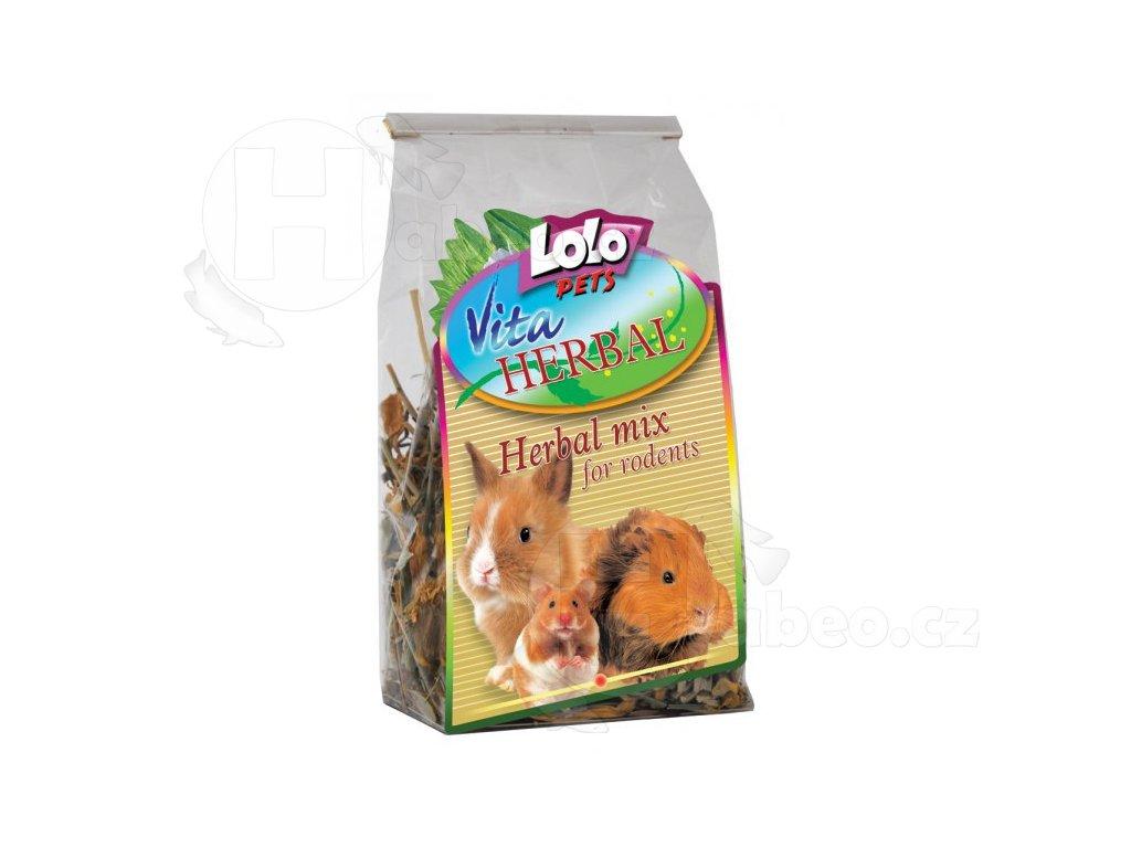 LOLOPets VITA HERBAL bylinkový mix 40 g habeo.cz
