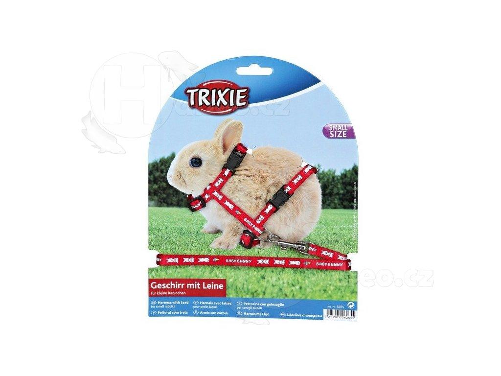 Postroj pro králíky s motivem BABY BUNNY