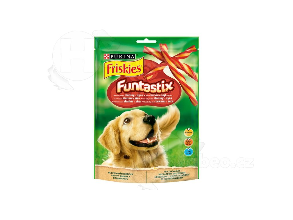 Friskies funtasticx 175 g pamslky pro psy habeo.cz Friskies funtasticx 175g