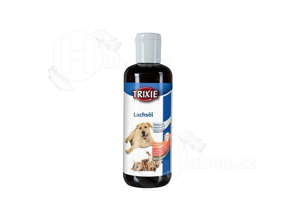 Lososový olej 250 ml habeo.cz