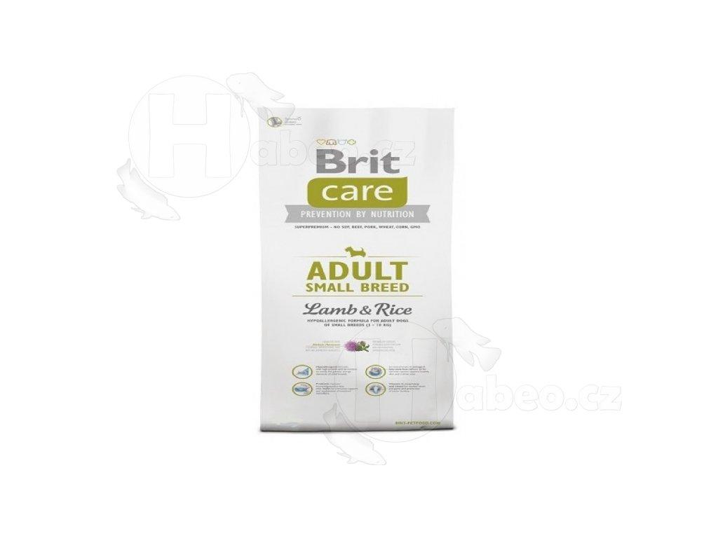 BRIT CARE 3 kg ADULT L+R SB granule pro psy