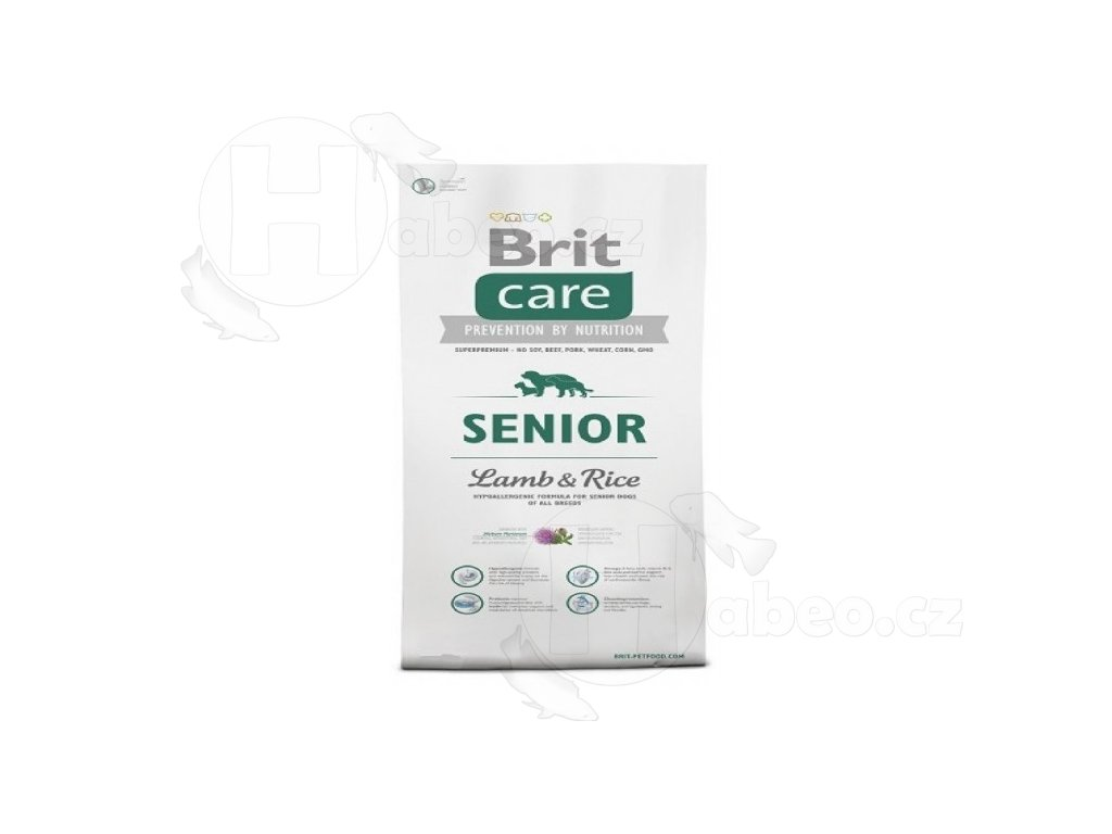 BRIT CARE 3 kg SENIOR L+R granule pro psy thb 011868