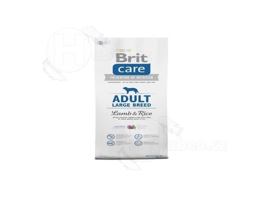 BRIT CARE 12 KG ADULT LB L+R habeo.cz