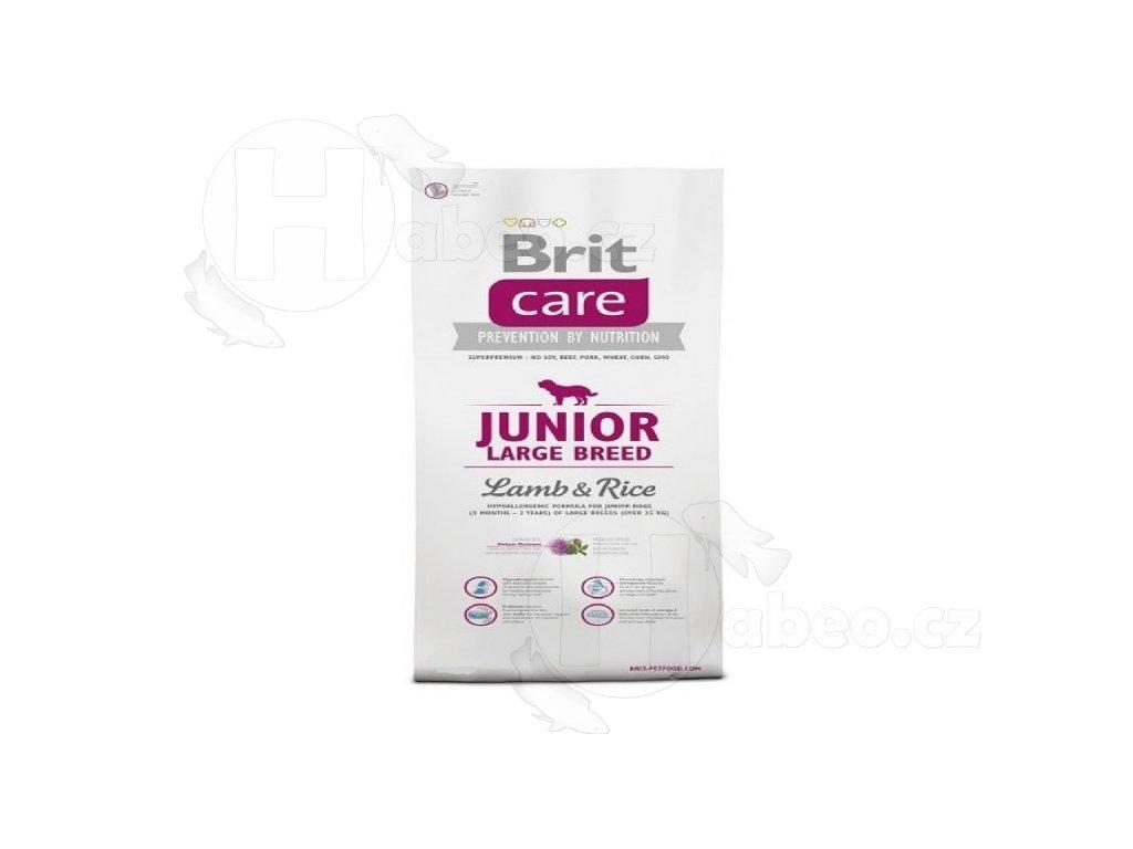 BRIT CARE 12 kg JUNIOR LB L+R