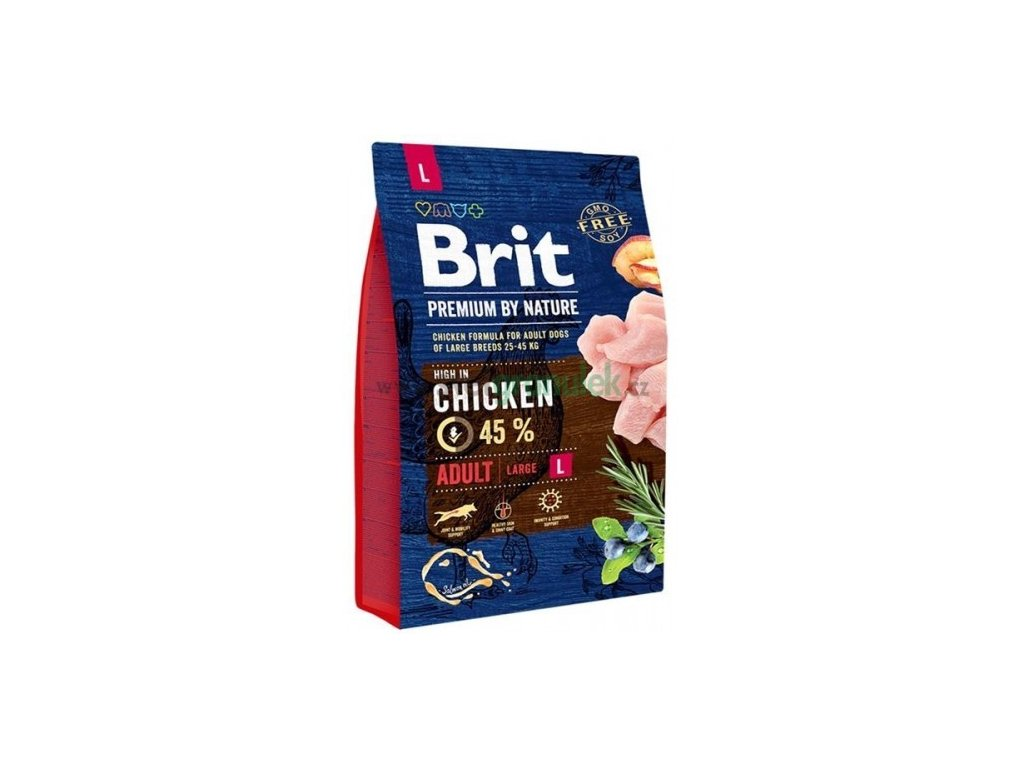 BRIT 3 kg Premium nature adult L