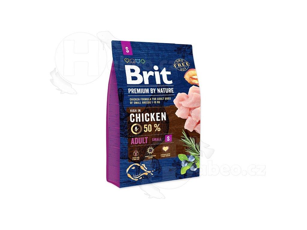 BRIT 3 kg Premium nature adult S